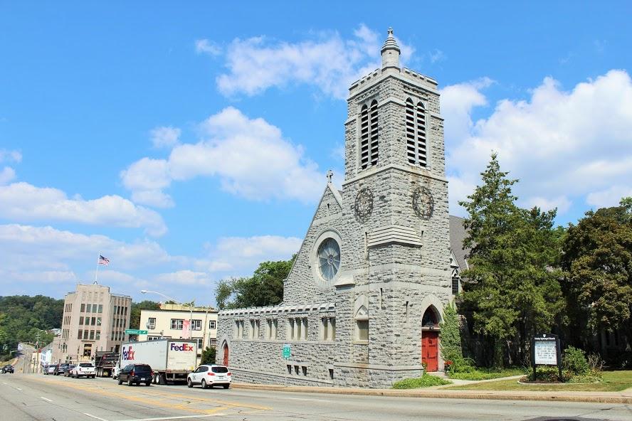 Trinity Church on Albany Post Rd.